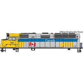 Walthers Mainline HO F40PH DC VIA #6453 Canada Scheme