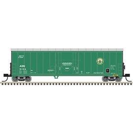 Atlas N 50' Smoothside Isulated Box RBL AD&N #5100