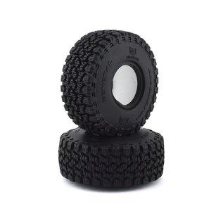 "Team Associated 1.55 General Grabber A/T X Tires 3.85"" dia"