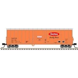 Atlas N NACC 50' Smoothside RBL Car, Sexton Foods #50163