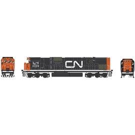 Bowser Trains HO C630M w/DCC & Sound, CN/Noodle #2031
