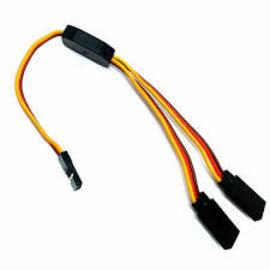 2U Hobby Servo Y-Harness Cable 150mm