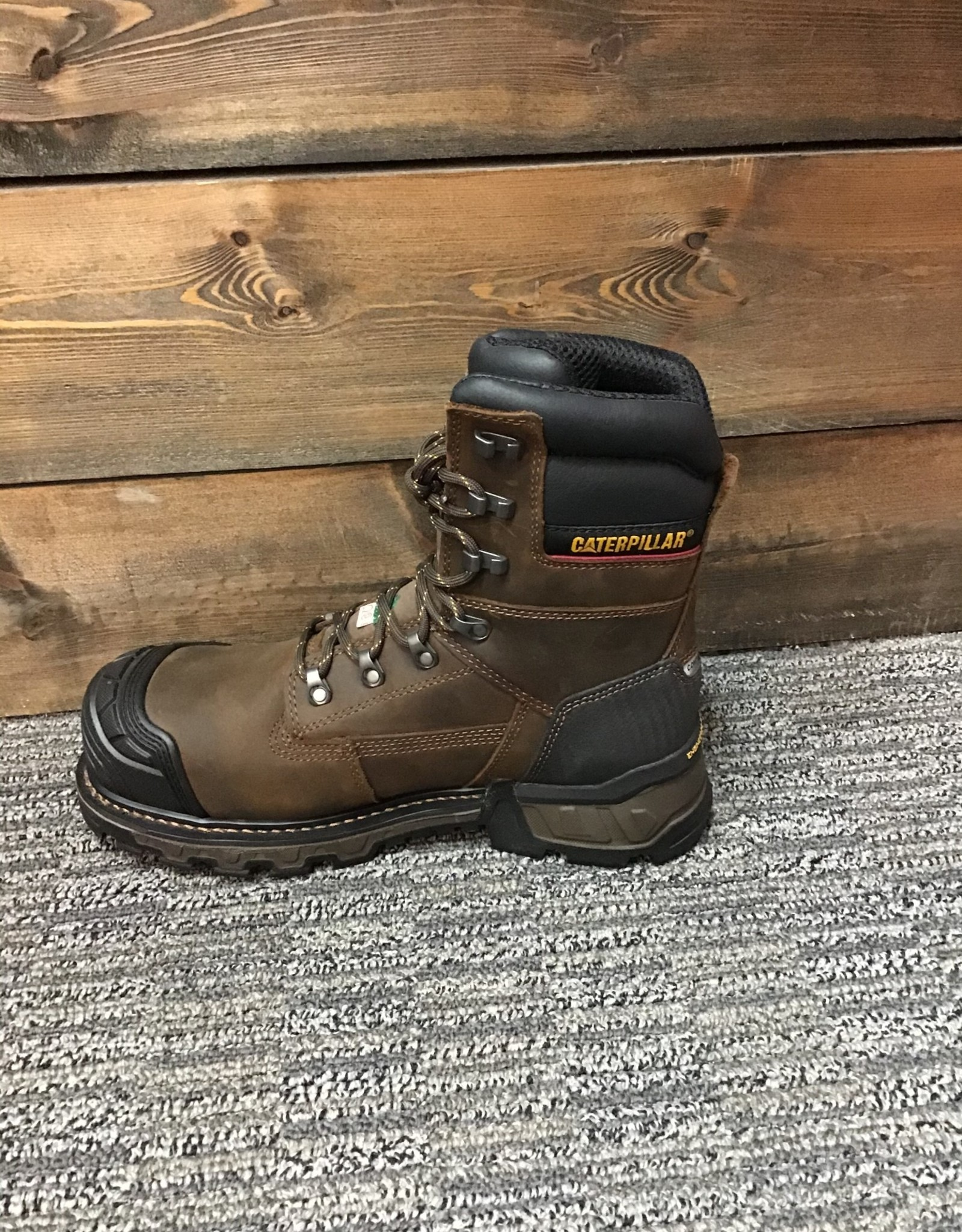 "Cat Cat ExcavatorXL 8"" WP CSA Men's"