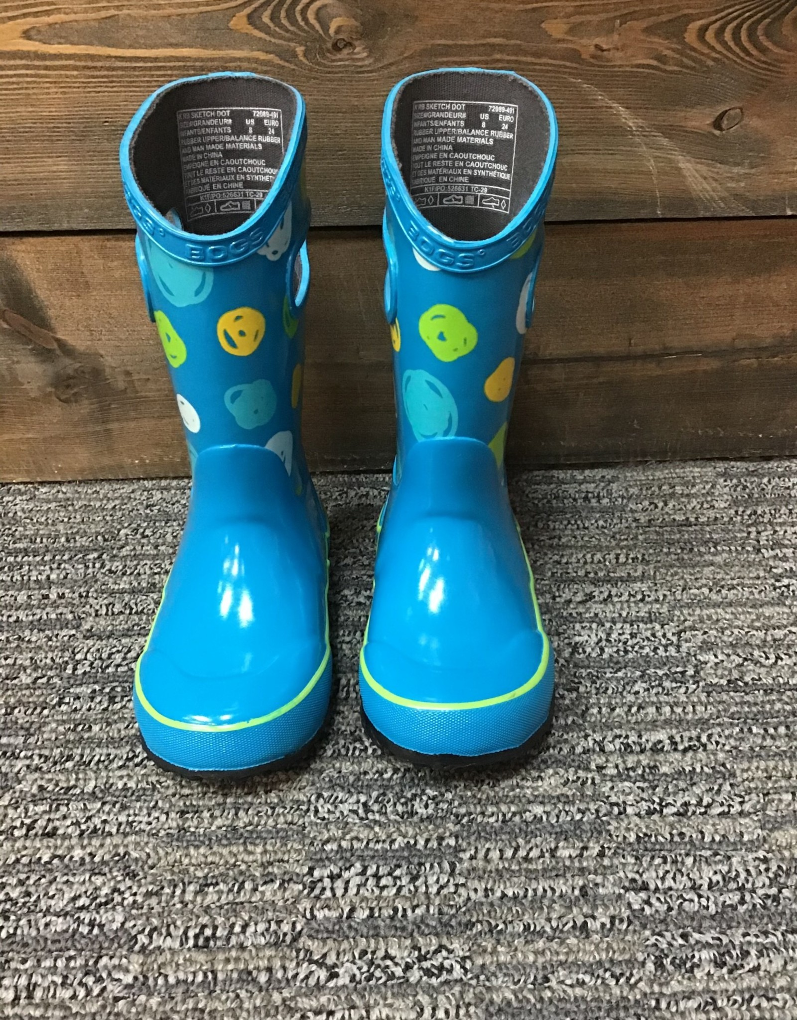 Bogs Bogs Rainboot Sketch Dot Kids'