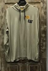 Cat Cat UPF Hooded Banner L/S Tee Men's