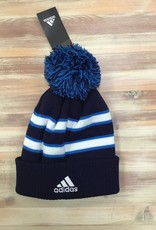 Adidas Jets Adidas Cuffed Knit Pom Toque