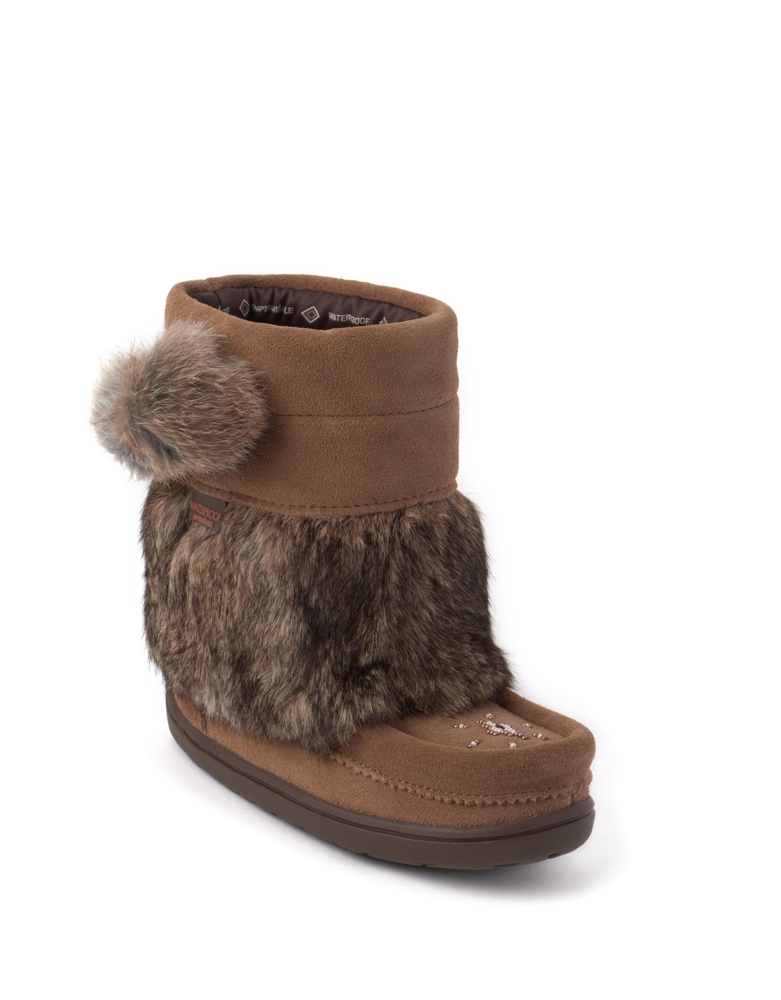 Manitobah Mukluks Manitobah Mukluks Snowy Owlet Suede Mukluk Kids'
