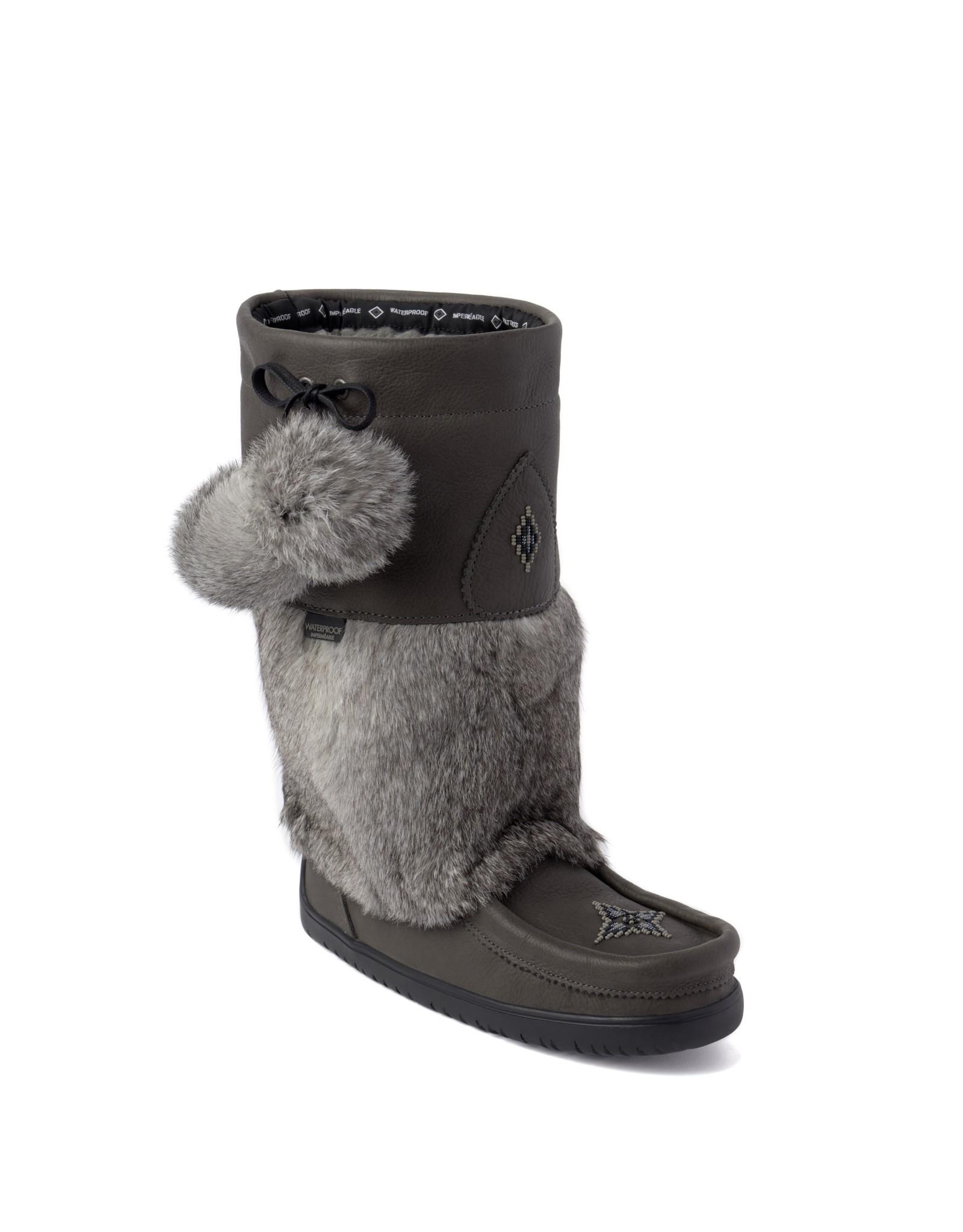 Manitobah Mukluks Manitobah Mukluk 6012  Snowy Owl Waterproof Grain Mukluk Ladies'