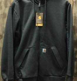 Carhartt Carhartt 103308 Rain Defender Rockland Sherpa-Lined Full-Zip Hooded Sweatshirt Men's