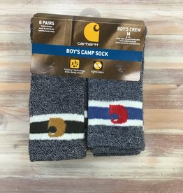 Carhartt Carhartt Boy's Camp 6 Pair Socks Children's
