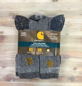 Carhartt Carhartt Cold Weather Wool Blend Boot 4 Pairs Socks Men's