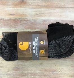 Carhartt Carhartt Low Cut All Season Premium Cotton Sock Men's