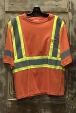 Big K Clothing Big K #6978 S/S Safety T-Shirt