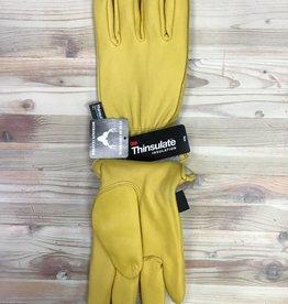 Ganka Ganka 27-1006-BUC-C/C Leather Insulated Work Gloves