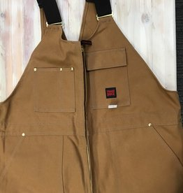 Tough Duck Tough Duck 7637 Zip Front Unlined Bib Overall Men's