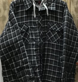 Tough Duck Tough Duck Hooded Flannel Shirt Men's