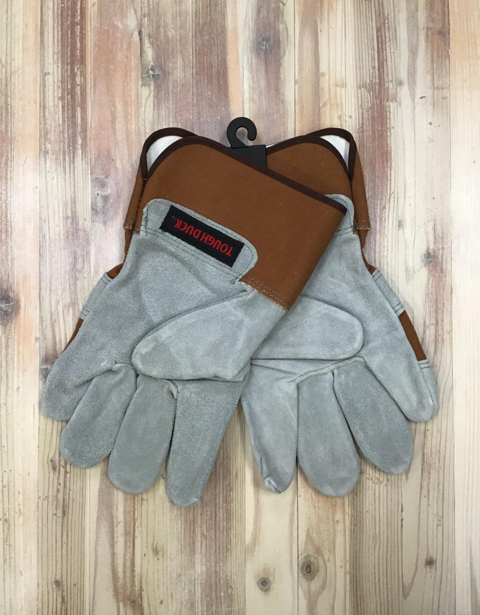 Tough Duck Tough Duck Premium Cowsplit Leather Palm Lined Gloves