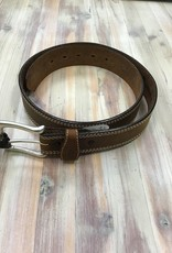 """Red Wing Available In Store ONLY - Red Wing 1 3/8"""" Chieftan Tripple Stitch 96556 Leather Belt Men's"""