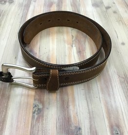 "Red Wing Available In Store ONLY - Red Wing 1 3/8"" Chieftan Triple Stitch 96556 Leather Belt Men's"