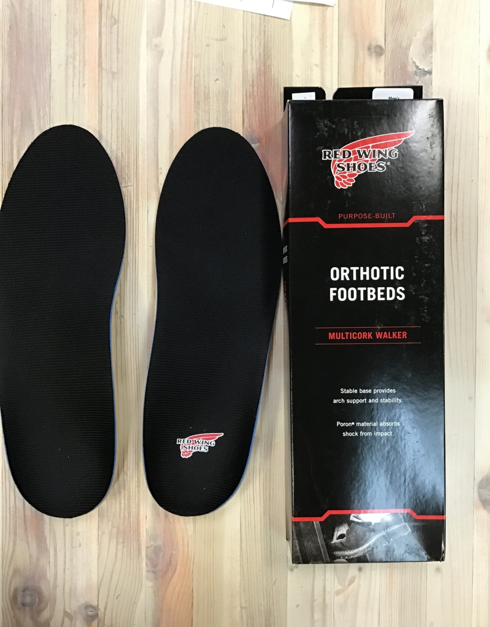 Red Wing Available In Store ONLY - Red Wing Multicork Walker Orthotic Footbed Insoles Unisex