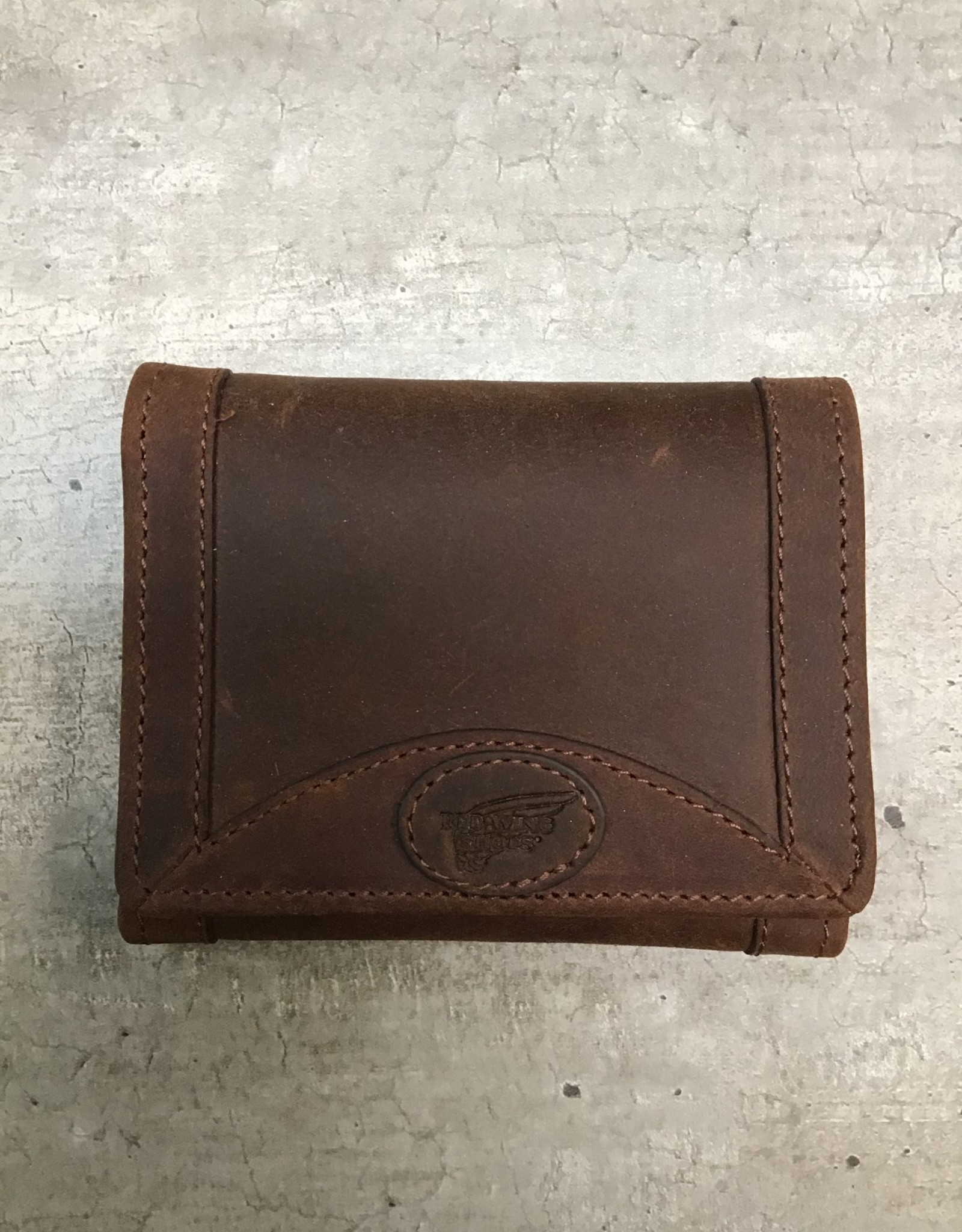 Red Wing Available In Store ONLY - Red Wing Tri-Fold Leather Wallet