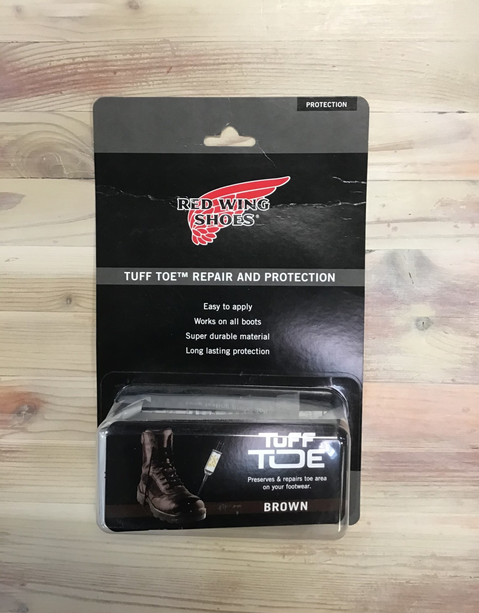 Red Wing Available In Store ONLY - Red Wing Tuff Toe Repair & Protection