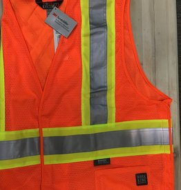 Work King Tough Duck S9I021 5 Point Tearaway Mesh CSA Vest Men's