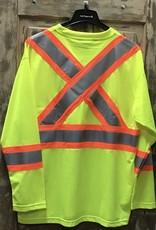 Work King Work King #396 Micro Mesh Long Sleeve T-Shirt Men's