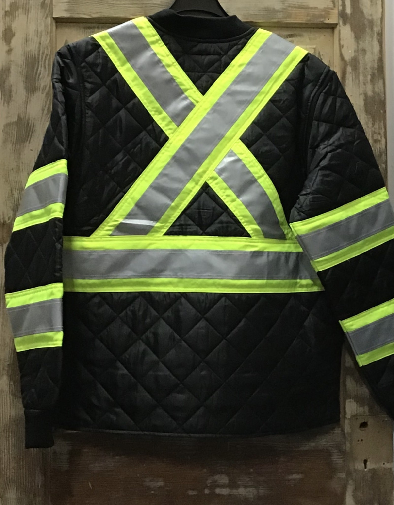 Work King Work King S432 Quilted Safety Jacket Men's