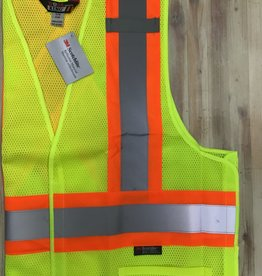 Work King Work King S9I011 5 Point Tearaway CSA Mesh Vest Men's