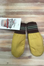 Raber Raber #384 Cuffed Leather Garbage Mitts Kids'