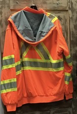 Work King Work King SJ16 Thermal Lined Safety Hoodie Men's