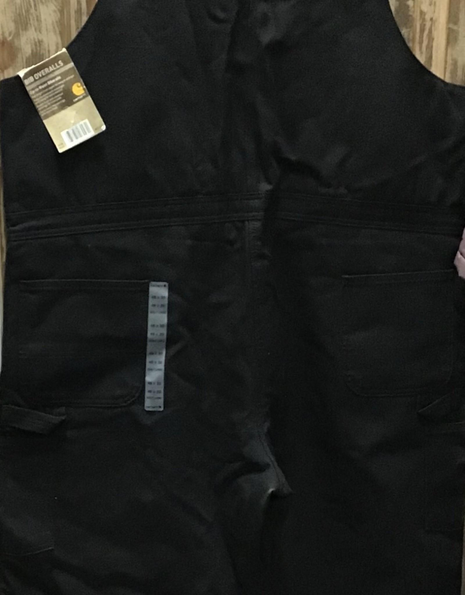 Carhartt Carhartt R38 Firm Duck Quilt Lined Zip to Waist Biberalls Mens