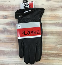Ganka Ganka 67-1501-D-N/B Laska Leather Gloves Men's