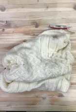 Ganka Laska 77-041 Acrylic Knit Infinity Scarf Ladies'