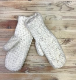 Ganka Ganka 77-7330 Hand knitted Mittens Ladies'
