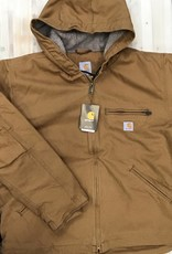 Carhartt Carhartt 104392 Relaxed Fit Washed Duck Sherpa Lined Jacket Men's