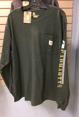 Carhartt Carhartt 104430 Original Fit Heavyweight L/s Pocket Logo Graphic T-Shirt Men's