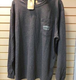 Carhartt Carhartt 104433 Original Fit Heavyweight L/s Pocket Rugged Workwear Graphic T-Shirt Men's