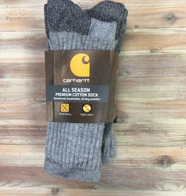 Carhartt Carhartt Crew All Season Premium Cotton Socks 3 Pairs Men's
