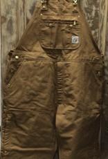 Carhartt Carhartt R41 Quilt-Lined Zip-to-Thigh Bib Overalls Men's