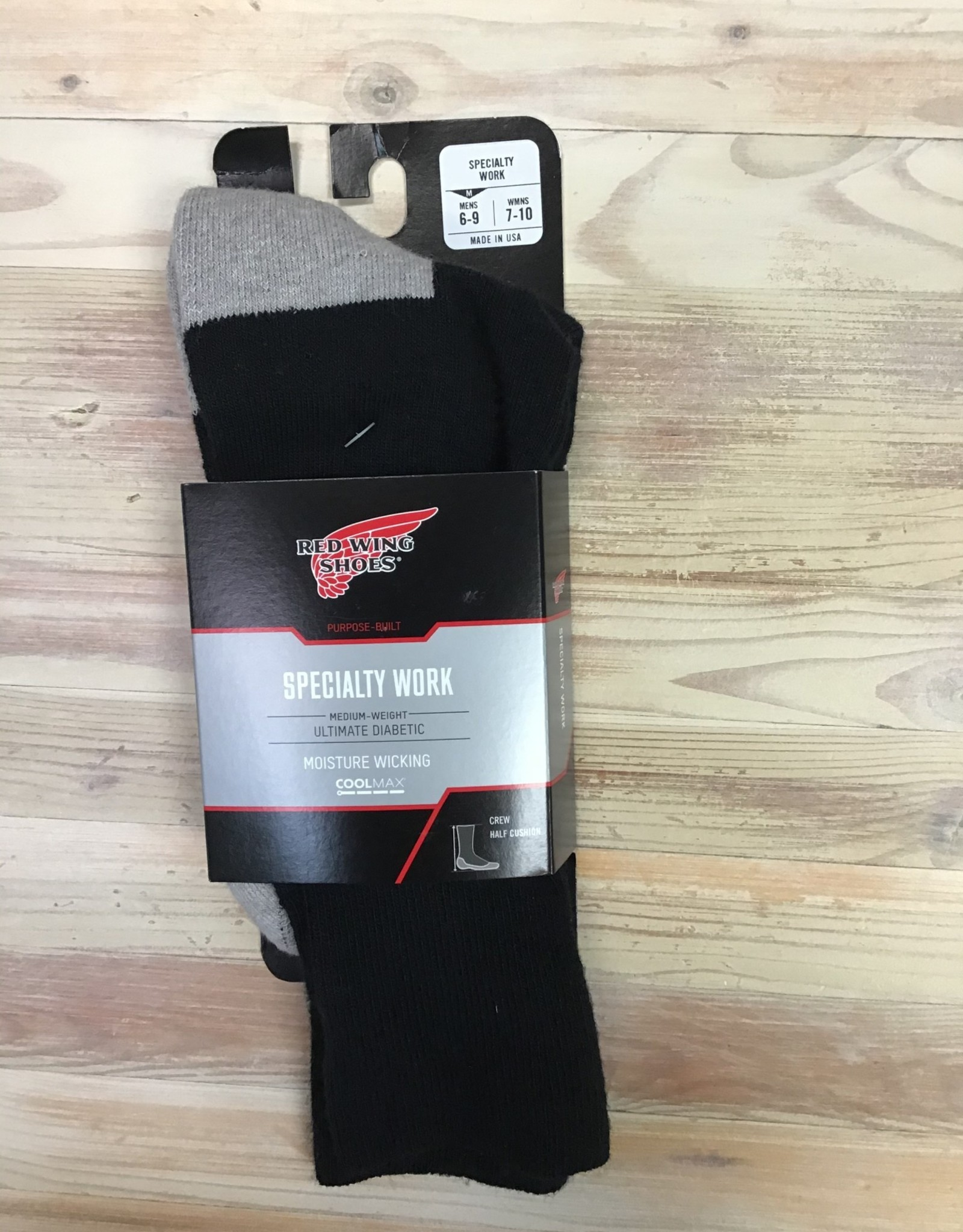 Red Wing Available In Store ONLY - Red Wing Specialty Work Socks Unisex