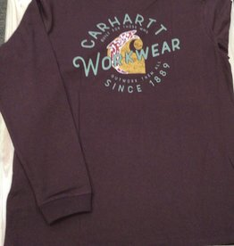 Carhartt Carhartt 104524 Original Fit Heavy Weight Long Sleeve Rosie Graphic T-shirt Ladies'