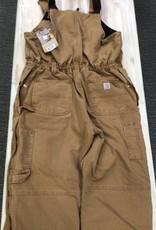 Carhartt Carhartt 102743 Weathered Duck Wildwood Bib Overalls Ladies'