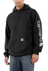 Carhartt Carhartt K288 Midweight Signature Sleeve Logo Hooded Sweatshirt Men's