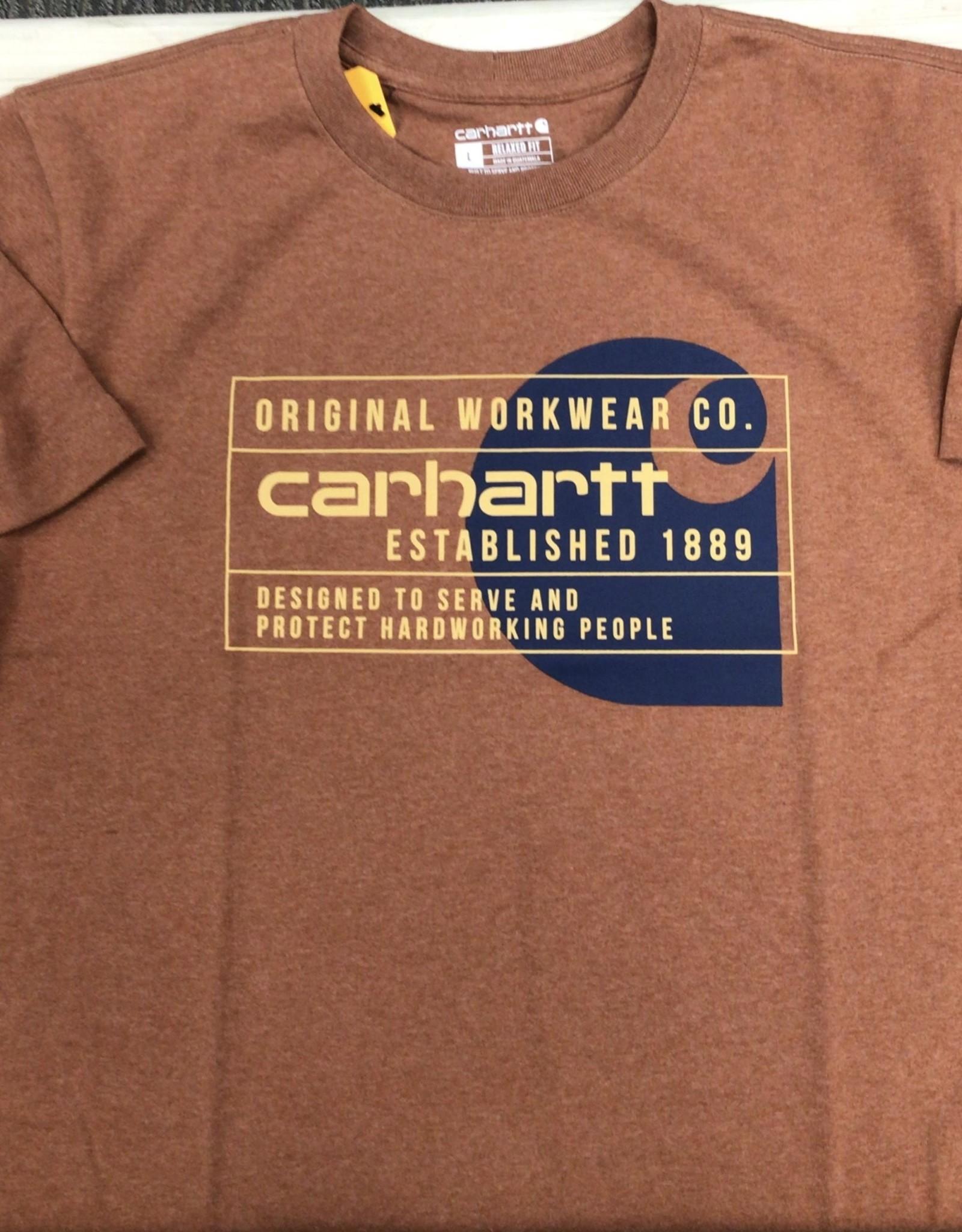 Carhartt Carhartt 104610 Relaxed Fit S/S Workwear Tshirt Men's