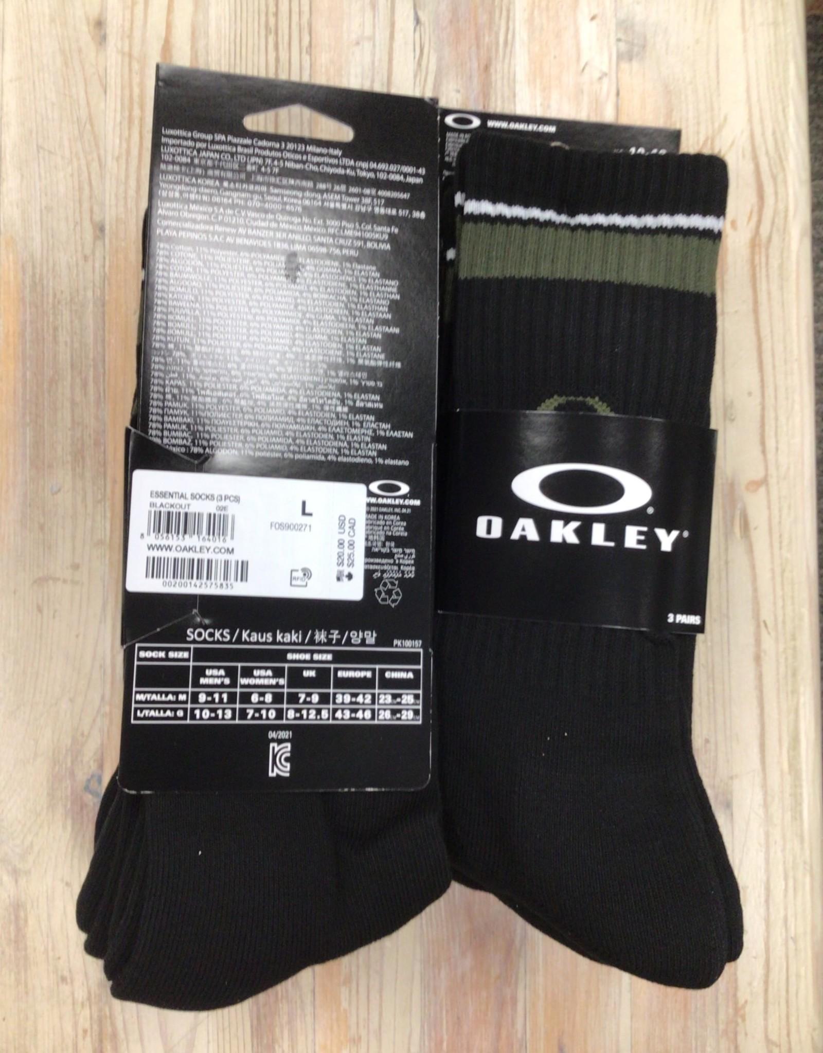 Oakley Oakley Essential Socks 3 pack Unisex