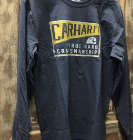Carhartt Carhartt 105059 Relaxed Fit Heavy Weight L/S Craftsman Graphic T-Shirt Men's