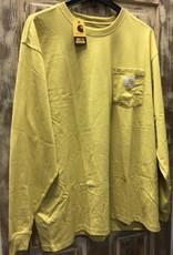 Carhartt Carhartt 104889 Loose Fit Heavy Weight L/S Flag Graphic T-Shirt Men's