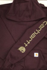 Carhartt Carhartt K288 Midweight Signature Sleeve Logo Hooded Sweatshirt Men's
